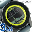 ニクソン A2822058 nixon ニクソン ユニット タイド メンズ 腕時計 ブラック/ダークグレー/シャルトリューズ【あす楽対応】