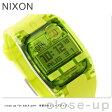 ニクソン A3362044 nixon ニクソン コンプ S デュアルタイム クロノグラフ レディース 腕時計 オールネオングリーン