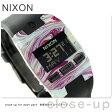 ニクソン A3362151 nixon コンプ S レディース 腕時計 マーブルドマルチ/ブラック【あす楽対応】