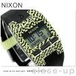 ニクソン コンプ S クロノグラフ レディース 腕時計 A3362155 nixon ネオン/イエロー/アメーバ
