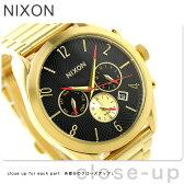 ニクソン A366510 nixon ブレット レディース 腕時計 オールゴールド/ブラック