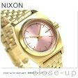 ニクソン A3992360 nixon スモール タイムテラー レディース 腕時計 ライトゴールド/ピンク【あす楽対応】