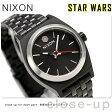 ニクソン A399SW2444 nixon スターウォーズ カイロ スモール タイムテラー 腕時計 ブラック