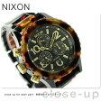 ニクソン A404679 nixon 38-20 クロノグラフ レディース 腕時計 オールブラック/トートイズ