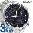 ニクソン 腕時計 レディース nixon A4182195 ブレット ネイビー/ローズゴールド