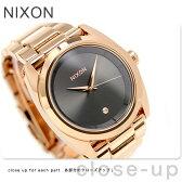 ニクソン クイーンピン クオーツ レディース 腕時計 A9352046 nixon オールローズゴールド/ガンメタル