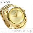 ニクソン A935502 nixon クイーンピン レディース 腕時計 オールゴールド