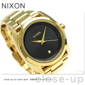 ニクソン A935510 nixon クイーンピン レディース 腕時計 オールゴールド/ブラック