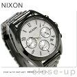 ニクソン ブレット クロノ 36 クオーツ レディース 腕時計 A9492225 nixon ガンメタル/シルバー