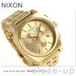 ニクソン タイムテラー クロノグラフ メンズ 腕時計 A972502 nixon オールゴールド