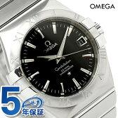 オメガ 腕時計 自動巻き コンステレーション クロノメーター 35MM メンズ ブラック OMEGA 123.10.35.20.01.001 新品