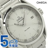 オメガ 腕時計 シーマスター アクアテラ 38.5MM メンズ デイト ホワイト OMEGA 231.10.39.60.02.001 新品【あす楽対応】