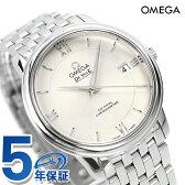 オメガ デビル プレステージ 36.8mm 自動巻き クロノメーター 424.10.37.20.02.001 OMEGA メンズ 腕時計 スイス製 シルバー 新品