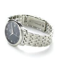 オメガデビルプレステージコーアクシャル36.8MM424.10.37.20.03.001OMEGA腕時計ネイビー