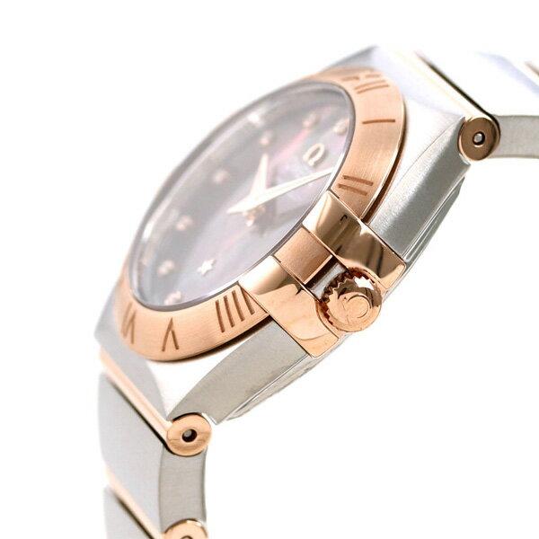 【25日は全品5倍でポイント最大22倍】オメガコンステレーションタヒチダイヤモンドスイス製123.20.24.60.57.005OMEGAレディース腕時計マザーオブパール時計
