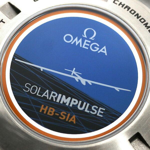 オメガ スピードマスター HB-SIA ソーラーインパルス 自動巻き 321.90.44.52.01.001 OMEGA メンズ 腕時計 ブラック 時計
