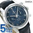 オメガ デビル コーアクシャル クロノグラフ 42mm 自動巻き 431.13.42.51.03.001 ブルー OMEGA 腕時計
