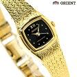 オリエント ORIENT 腕時計 レディース 海外モデル ブラック×ゴールド FUBLR005B