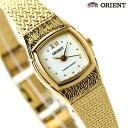 オリエント ORIENT 腕時計 海外モデル レディース クオーツ FUBLR005W ホワイト×ゴールド 【あす楽対応】