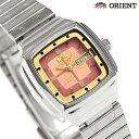 オリエント 逆輸入 海外モデル 自動巻き レディース URL043NQ ORIENT 腕時計 オレンジ