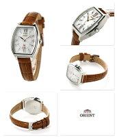 オリエントイオスイートジュエリー電波ソーラー腕時計WI0191SDORIENTiOホワイト×ブラウン