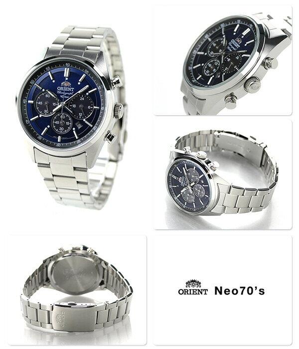 オリエント 腕時計 ORIENT ネオセブンティーズ WV0021TX ソーラー クロノグラフ 時計