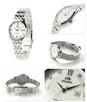 オリエントワールドステージコレクションペアウォッチWV0131SZORIENTレディース腕時計ミルキーホワイト