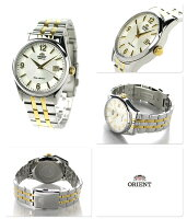 オリエントワールドステージコレクションペアウォッチWV0971ERORIENTメンズ腕時計ホワイト×ゴールド
