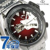 オリエントスター腕時計メンズ自動巻きレトロフューチャーギターモデルレッドOrientStarWZ0171DA