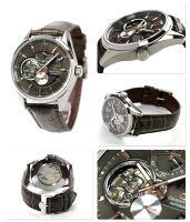 オリエントスター自動巻きパワーリザーブWZ0201DKOrientStarメンズ腕時計コンテンポラリースタンダードモダンスケルトンブラウンレザーベルト