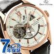 【クロス付き♪】オリエント ORIENT 腕時計 オリエントスター OrientStar コンテンポラリースタンダード モダンスケルトン メンズ 自動巻き WZ0211DK パワーリザーブ