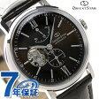 【クロス付き♪】オリエントスター クラシックスケルトン 自動巻き 腕時計 WZ0301DK Orient Star ブラウン×ブラウン