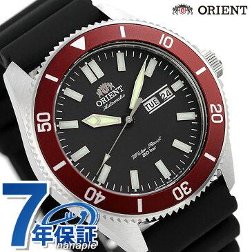 オリエント 腕時計 メンズ ORIENT 日本製 自動巻き スポーツ MAKO マコ RN-AA0008B ブラック 時計【あす楽対応】