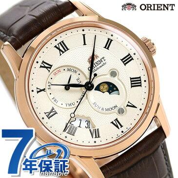 オリエント 腕時計 ORIENT クラシック サン&ムーン 42.5mm 自動巻き RN-AK0001S【あす楽対応】