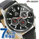 オリエント 腕時計 メンズ ORIENT 日本製 スポーツ クロノグラフ RN-KV0004B ブラ...