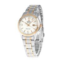 オリエントワールドステージコレクション自動巻き腕時計WV0651NRORIENTホワイト×ピンクゴールド