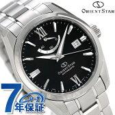 【クロス付き♪】オリエントスター アーバンスタンダード 40mm 自動巻き WZ0051AF Orient Star 腕時計 ブラック