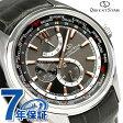 オリエントスター ワールドタイム 自動巻き メンズ 腕時計 WZ0091JC Orient Star グレー