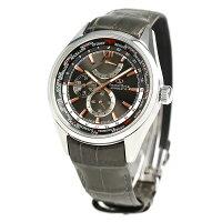 オリエントスターワールドタイム自動巻きメンズ腕時計WZ0091JCOrientStarグレー