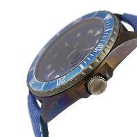アウトオブオーダークオーツヴィンテージレザー44mmOOO-001JCOutOfOrder腕時計