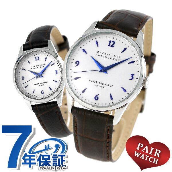 【当店なら!さらにポイント+4倍】 ペアウォッチ マッキントッシュ 腕時計 革ベルト MACKINTOSH 時計
