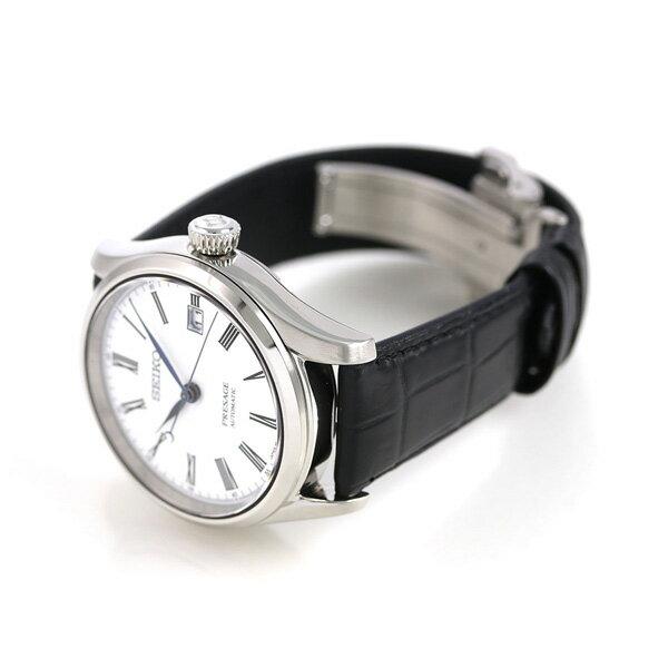 【桐箱付き♪】セイコー SEIKO プレザージュ ほうろうダイヤル 琺瑯 自動巻き メンズ 腕時計 SARX049 PRESAGE 革ベルト 時計