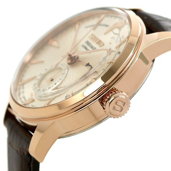 【目覚まし時計付き♪】セイコー SEIKO プレザージュ 自動巻き メンズ 腕時計 カクテル サイドカー SARY132 PRESAGE 革ベルト 時計【あす楽対応】