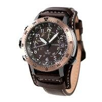 シチズン プロマスター エコドライブ アルティクロン 限定モデル 高度計 方位計 メンズ 腕時計 BN4055-35W CITIZEN PROMASTER 革ベルト【あす楽対応】