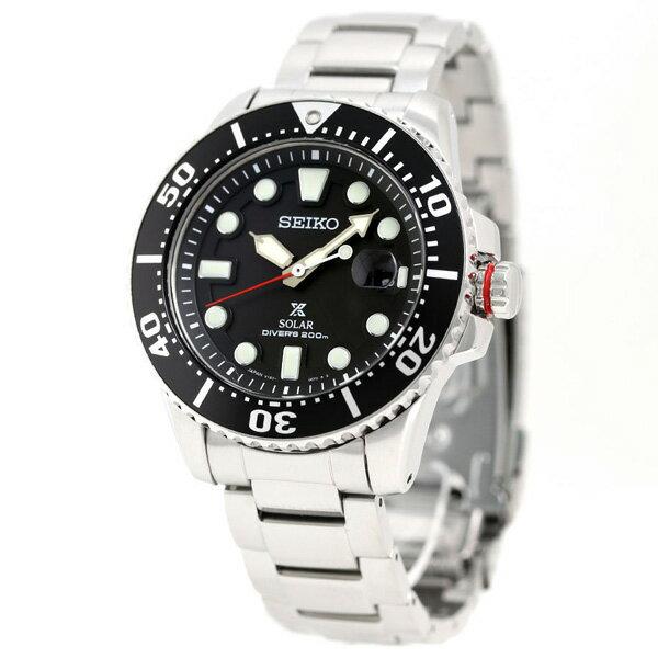 セイコー プロスペックス ダイバーズ ソーラー 腕時計 メンズ ブラック 黒 SBDJ017 SEIKO PROSPEX ダイバーズウォッチ 時計【あす楽対応】