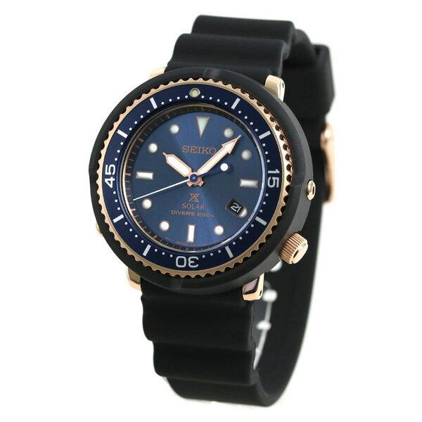 セイコー プロスペックス ダイバーズ 限定モデル LOWERCASE 43mm ソーラー 腕時計 メンズ ブルー 青 STBR008 SEIKO PROSPEX ダイバーズウォッチ 時計【あす楽対応】