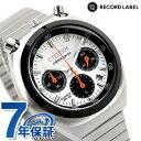 シチズン レコードレーベル ツノクロノ 流通限定モデル クロノグラフ クオーツ メンズ レディース 腕時計 AN3660-81A CITIZEN RECORD LABEL・・・