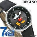 シチズン レグノ Disneyコレクション ミッキーマウス KP3-112-50 CITIZEN ディズニー メンズ レディース 腕時計 革ベルト 時計【あす楽対応】