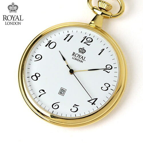 ロイヤルロンドン 懐中時計 クオーツ 90015-02 ROYAL LONDON ポケットウォッチ