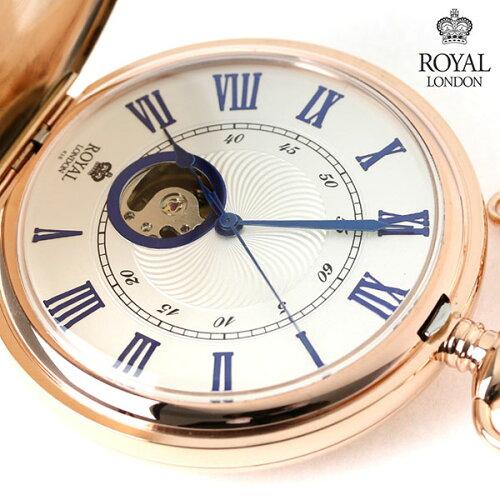 ロイヤルロンドン 懐中時計 手巻き 90051-03 ROYAL LONDON ポケットウォッチ
